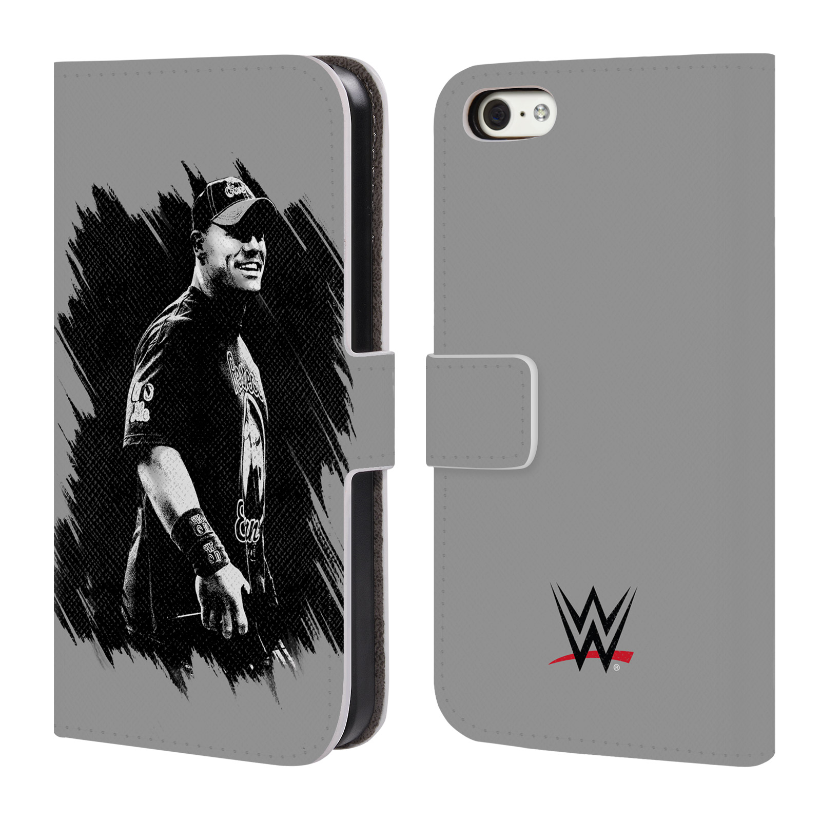 OFFICIAL WWE 2017/18 SUPERSTARS 4 LEATHER BOOK WALLET CASE COVER FOR APPLE IPHONE PHONES