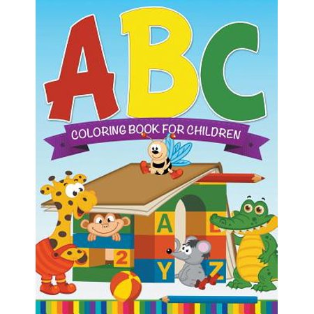 ABC Coloring Book for Children - Police Officer Coloring Pages