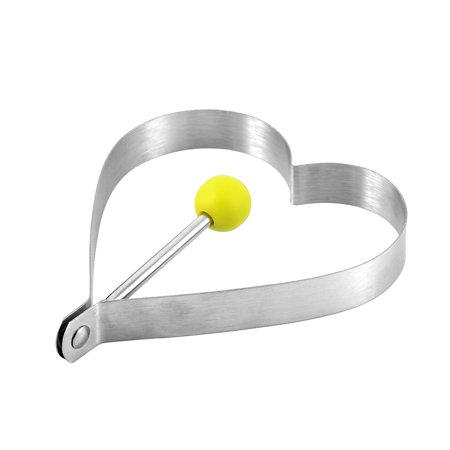 Kitchen Stainless Steel Heart Shape Biscuits Pancake Frying Egg Mold Ring - image 1 of 2