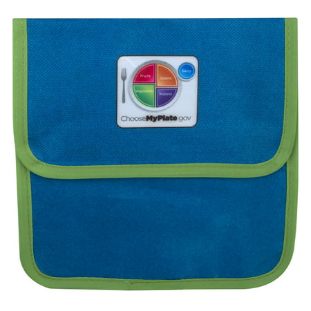 Reusable Sandwich Bags - Fresh Baby MyPlate Reusable Sandwich Bag - 3 PK, 3.0 PACK