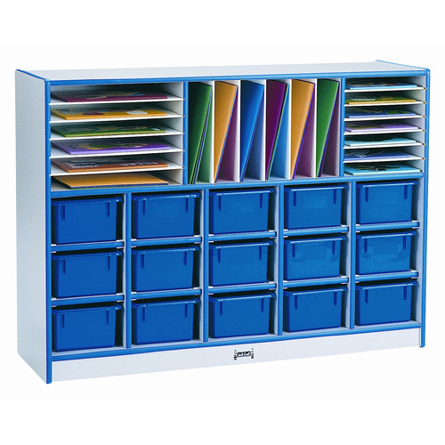 Rainbow Jonti-Craft Sectional 34 Compartment Cubby with C...