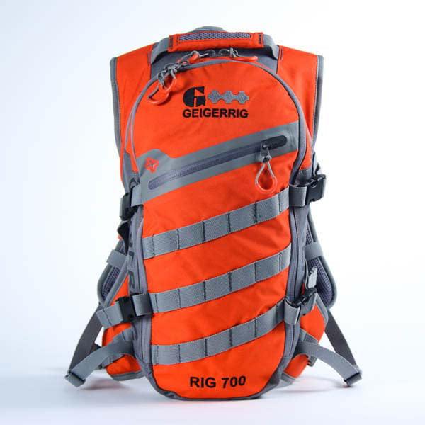 Geigerrig Rig 700 Hydration System 70 oz. Orange Gunmetal by Gegerrig