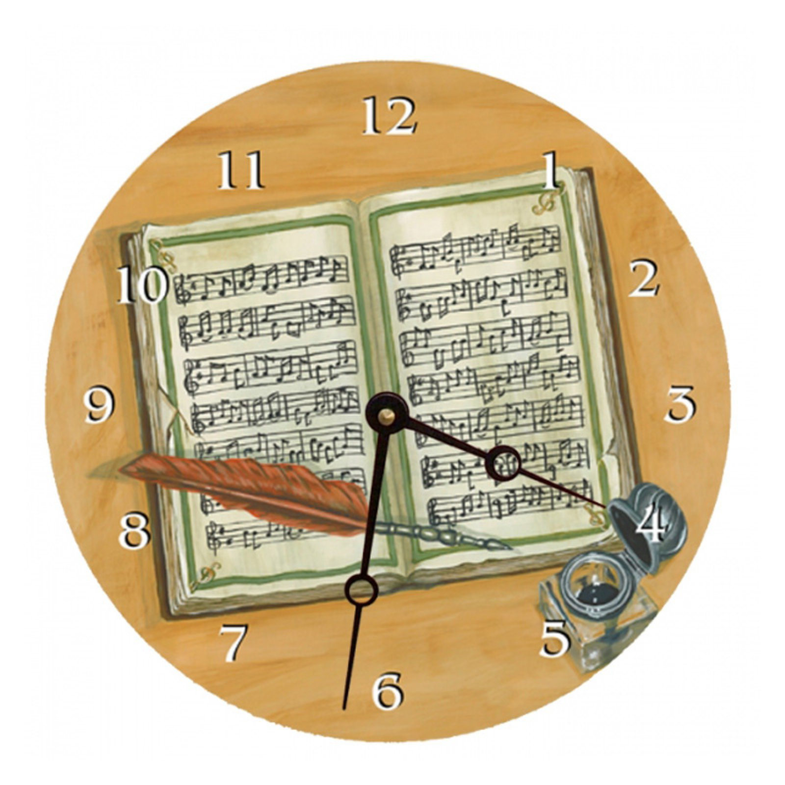 Lexington Studios Composing Wall Clock