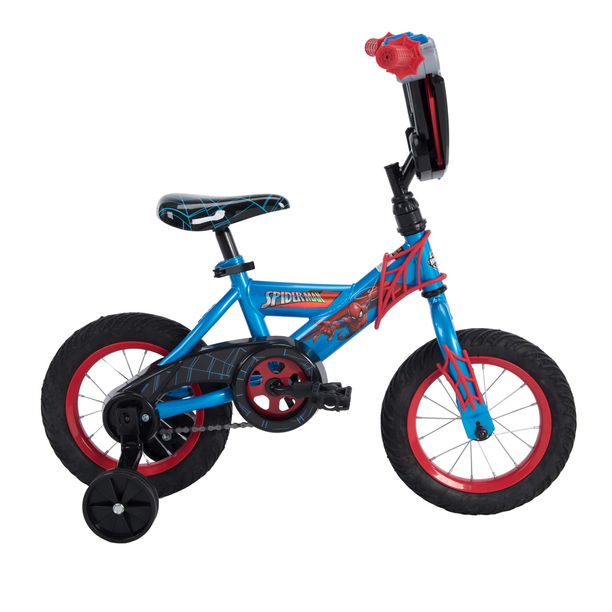 Boys Bicycle 12 Marvel Spider Man Children S Ez Build Bike Training
