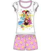 Princess Little Girl's Toddler Baby Princesses Shorts Set