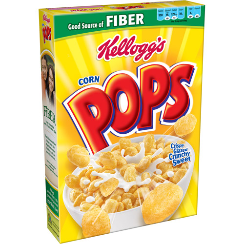 Kellogg's Corn Pops Cereal, 17.2 oz