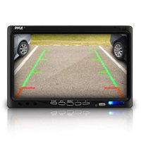"""Pyle Car Backup Camera Rearview Mirror Screen 