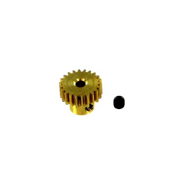 Gear For Running In The Dark (Redcat 11152 Brass Pinion Gear (22T, .6)