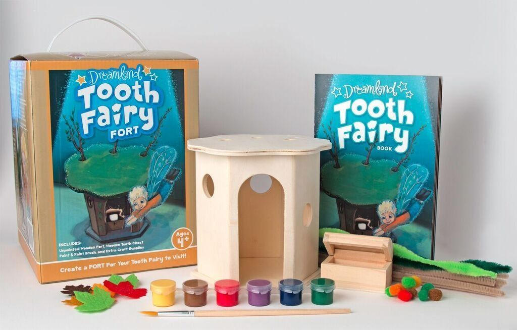 Click here to buy Dreamland Fairy Tooth Fort Craft Kit by Dreamland Fairy (TF100) by Dreamland Fairy.