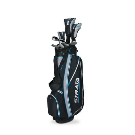 - Callaway Women's Strata Complete 11-Piece Golf Club Set with Bag, Right Handed