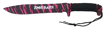 18in Zombie Machete Magenta Pink 4mm thi by