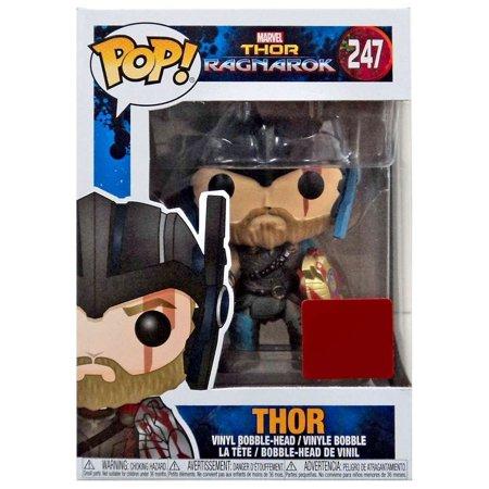 Funko Pop Vinyl Marvel Thor Ragnarok Collector Corps Thor With Helmet Figure 247, By ThorRagnarok