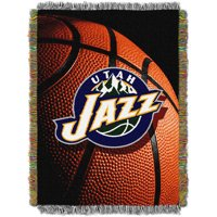 "NBA 48"" x 60"" Photo Real Series Tapestry Throw, Jazz"