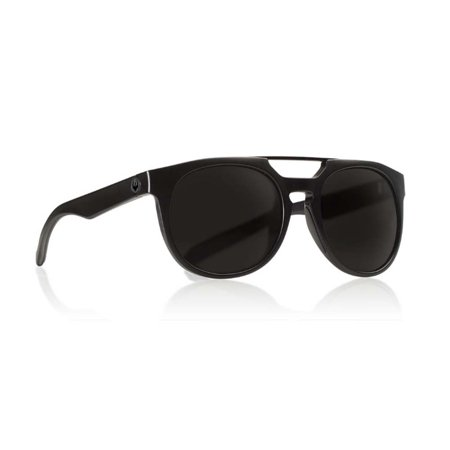 Dragon Alliance Proflect Matte Black Frame with Polarized Smoke Lens Sunglasses (Dragon Lenses)