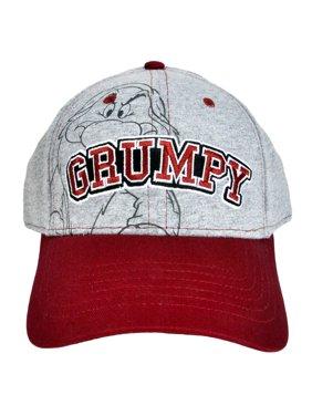 0684d17461200 Product Image Men s Disney Grumpy Baseball Cap Hat - Adult