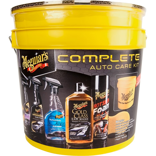Meguiar's Complete Auto Care Gift Set + Wash Bucket