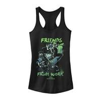 Marvel Juniors' Thor: Ragnarok Work Friends Racerback Tank Top