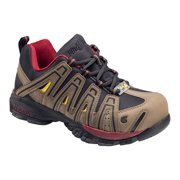 Men's Metal Free Composite Safety Toe Work Shoe w/ Removable Insole