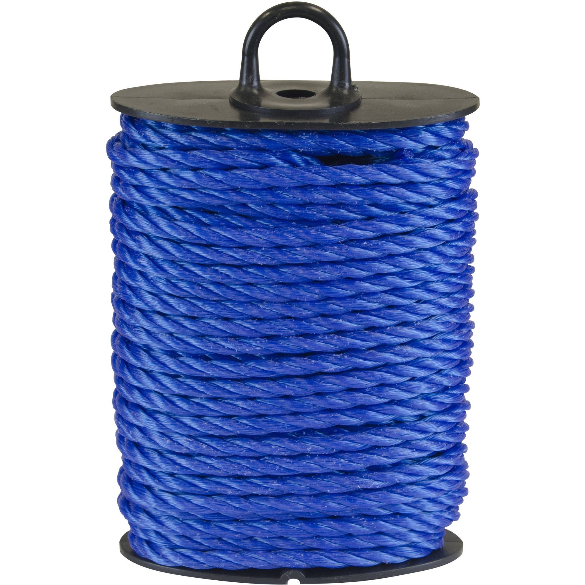 "3/16"" x 30' Poly Twisted Rope, Assorted Colors"