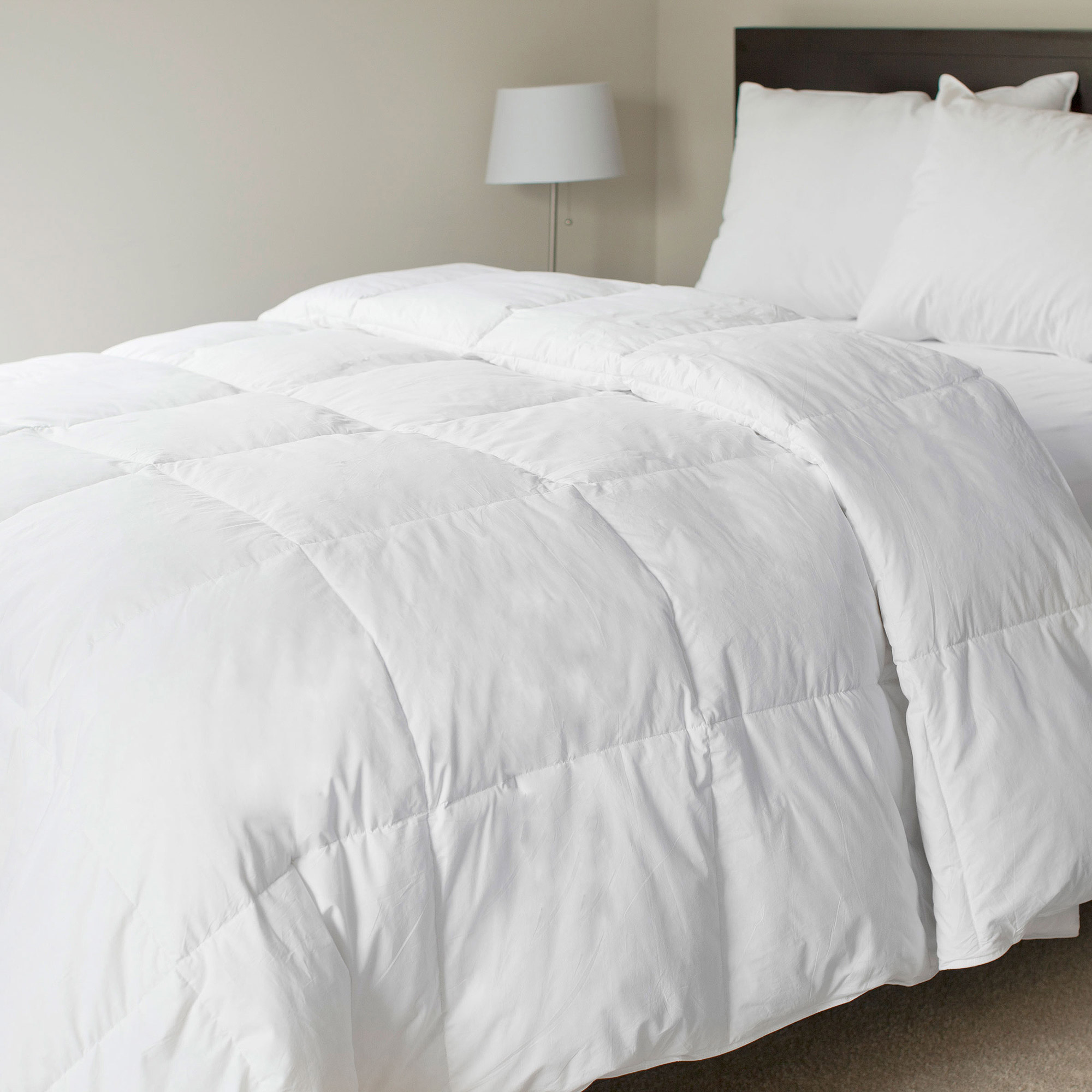 Somerset Home Cotton Feather Down Blend Bedding Comforter
