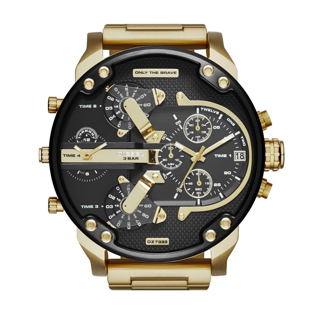 Men's Mr. Daddy 2.0 Gold-Tone Stainless Steel Watch