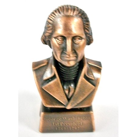 - George Washington 1st President Bust Die Cast Metal Collectible Pencil Sharpener