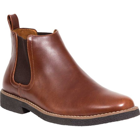 Deer Stags Men's Rockland Memory Foam Dress Casual Comfort Chelsea Boot (Wide Available)