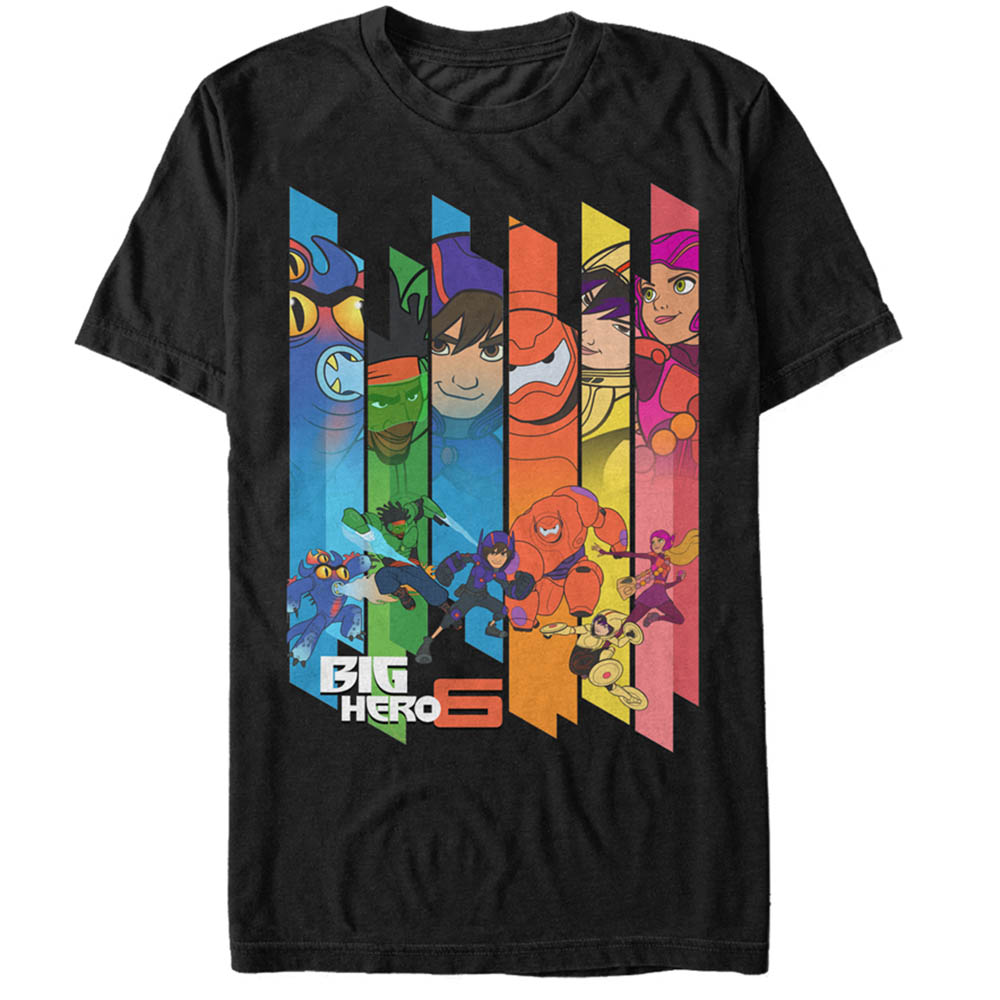 Big Hero 6 Men's Superhero Team T-Shirt