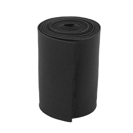 Tailoring DIY Sewing Stretchy Knitting Elastic Band Strap Black 2.84 Yards Elastic Rear Band