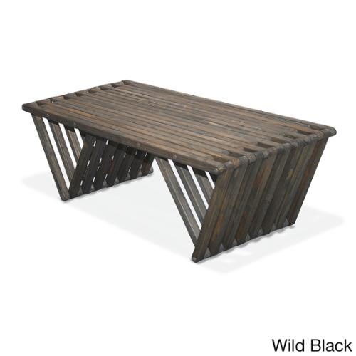 Eco Friendly Coffee Table X90 Made in USA Wild Black
