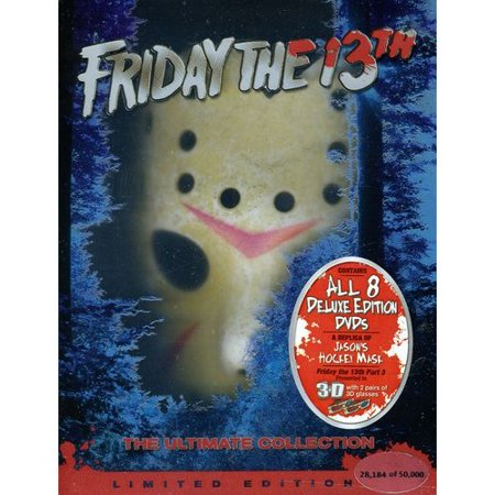 Friday the 13th: The Ultimate Collection (Parts I - VIII + Jason Mask)