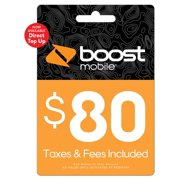 Boost Mobile $80 Direct Top Up