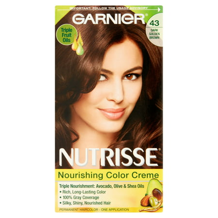 Garnier Nutrisse Nourishing Color Creme, 43 Dark Golden ... - photo #11