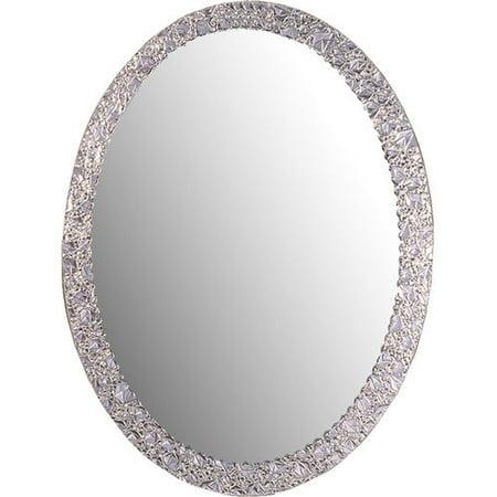Decor Wonderland SSM5016 4 Luxor Frameless Oval Wall Mirror. Decor Wonderland SSM5016 4 Luxor Frameless Oval Wall Mirror
