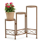 Deer Park Ironworks 3 Step Folding Plant Stand