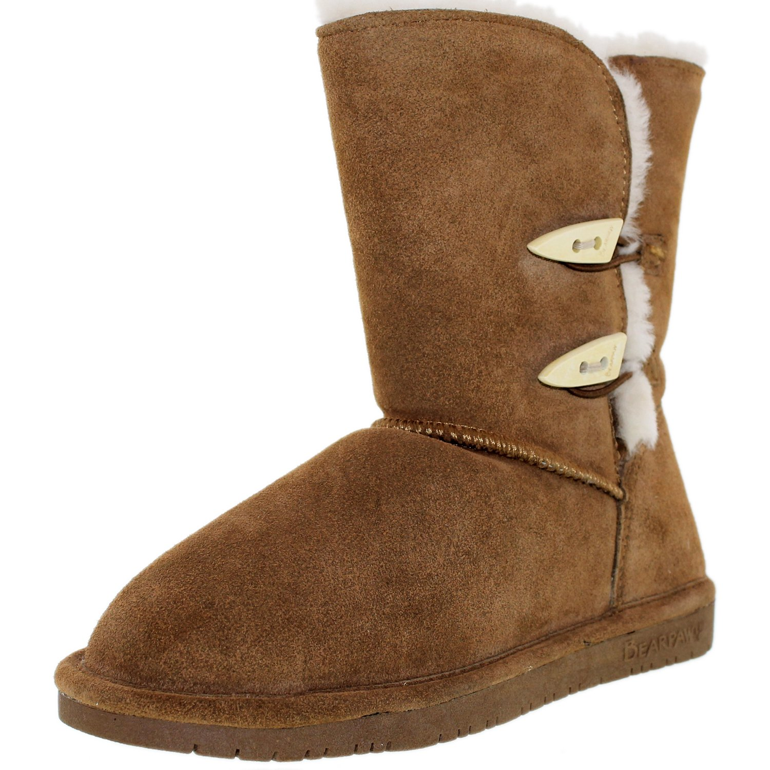 Bearpaw Women's Abigail Hickory Ankle-High Suede Boot - 11M