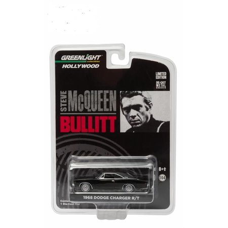 1968 Dodge Charger R/T Solid Pack Steve McQueen Bullitt in 1:64 Scale by Greenlight