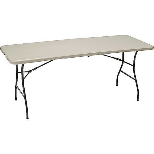 Staples 72 Center Fold Table Walmart Com