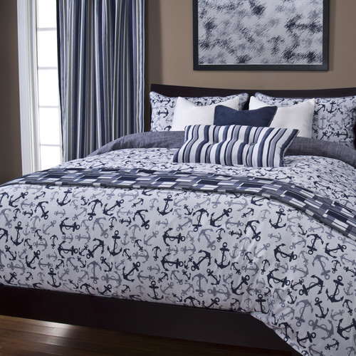 Siscovers Anchor's Away Duvet Cover Set