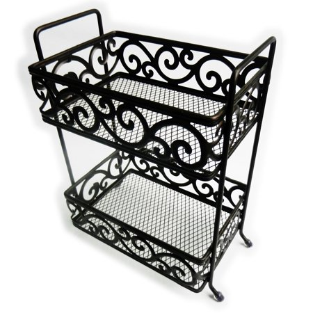 - Elegant Home Fashions Freestanding Decorative Flourish Shower Caddy