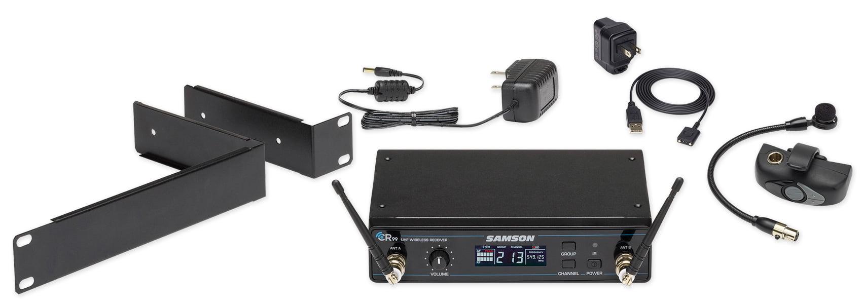 SAMSON AirLine AWX Wind Instrument Wireless Horn Microphone Mic 470�494 MHz by Samson