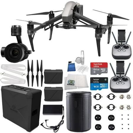 DJI Inspire 2 Quadcopter + Zenmuse X5S Filmmaker Starters Bundle