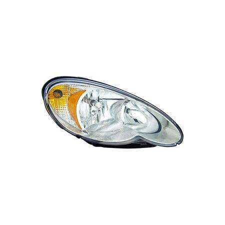 Chrysler Pt Cruiser Gts Headlight (Dorman 1591852 Headlight For Chrysler PT Cruiser, Clear)