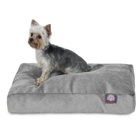 Majestic Pet Villa Collection Rectangle Dog Bed - Vintage Gray - Medium
