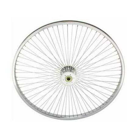 26   72 Spoke Hollow Hub Wheel 14G Chrome  Tricycle Wheel  Trike Wheel  Lowrider Trike Wheel  Lowrider Tricycle Wheel  Chopper