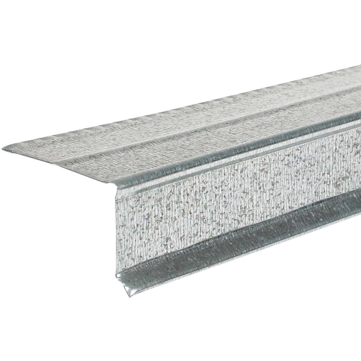 Amerimax Galvanized Style C Roof & Drip Edge Flashing