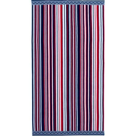 Better Homes And Gardens Beach Towel Americana Stripes