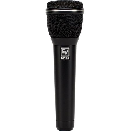Electro Voice Omnidirectional Dynamic Mic - Electro-Voice EV-ND96 Supercardioid Dynamic Vocal Microphone