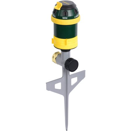 Melnor 6-Pattern Rotary Sprinkler with Step Spike