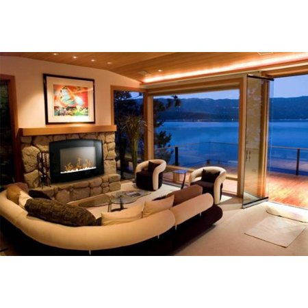 """New MTN-G Diva Tranquility 35"""" Wall Mount 1500W/750W Adjustable Electric Fireplace/Heater"""